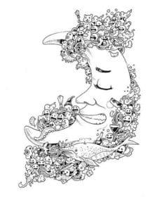 бесплатно дудлинг красивые рисунки