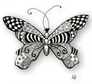 бесплатно формат а4 раскраски бабочки распечатать