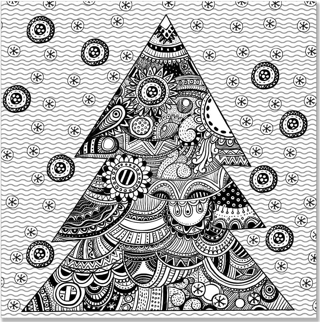 бесплатно год и рождество раскраски новый