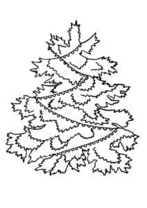 бесплатно год раскраска зима новый А4