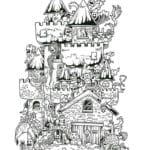 бесплатно карандашом дудлинг рисунки