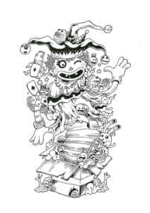 бесплатно картинки для срисовки в стиле дудлинг