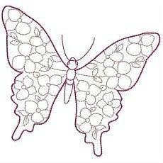 бесплатно картинки раскраски распечатать бабочки