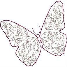 бесплатно красивые распечатать раскраски бабочки