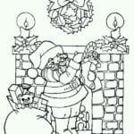 бесплатно на новый год картинки раскраски снежинок А4