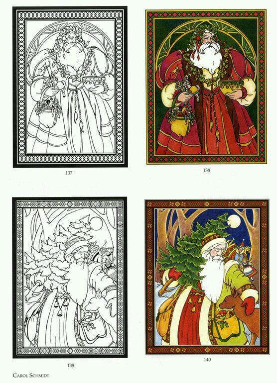 бесплатно на новый год распечатать бесплатно раскраски