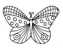 бесплатно номерам бабочки раскраски по