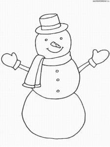 бесплатно новый год раскраски для девочек А4