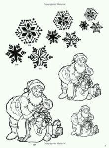 бесплатно новый год распечатать раскраски для детей А4