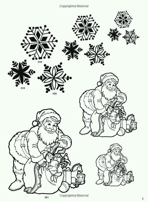 бесплатно новый год распечатать раскраски на тему