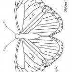 бесплатно по номерам бабочки раскраски