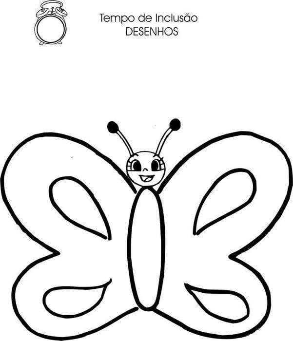 бесплатно раскраска крылья бабочки