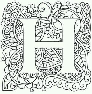 бесплатно раскраски английский алфавит с картинками и ...