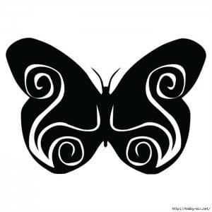 бесплатно  раскраски бабочки