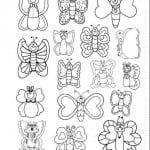 бесплатно раскраски цветы и бабочки распечатать