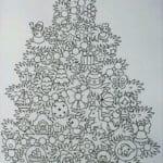 бесплатно раскраски детям 4 5 лет новый год
