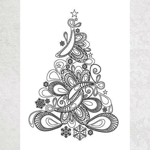 бесплатно раскраски для детей новый год распечатать