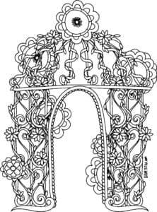 besplatno-raskraski-dver-raspechatat-222x300 Двери и арки
