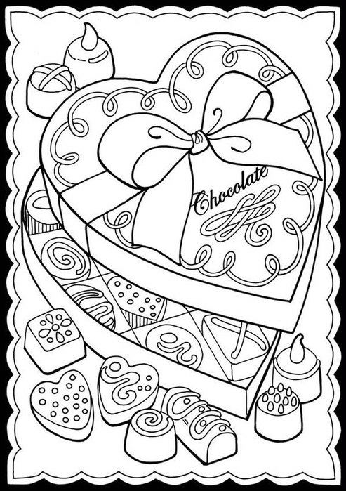 бесплатно раскраски еда распечатать 1