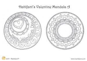 бесплатно раскраски на день святого валентина