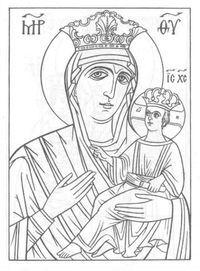 бесплатно раскраски на православную тему 1