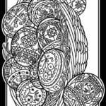бесплатно раскраски на тему пасха красивая