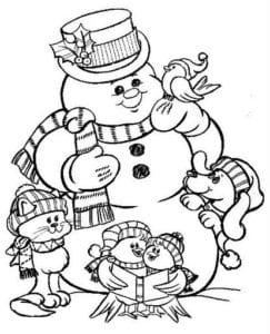 бесплатно раскраски новый год и рождество А4