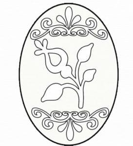 бесплатно раскраски пасха яйца