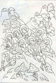 бесплатно раскраски православные распечатать 1