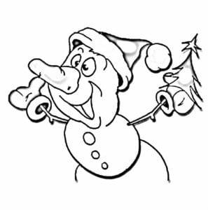 бесплатно раскраски про новый год 2016 А4