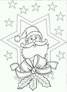бесплатно распечатать 5 лет новый год раскраски детям 4 А4