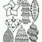 бесплатно распечатать для детей раскраска новый год
