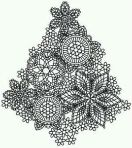 бесплатно распечатать елки на новый год раскраски А4