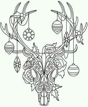 бесплатно распечатать год раскраски елки на новый