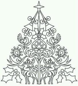 бесплатно распечатать и рождество раскраски новый год А4