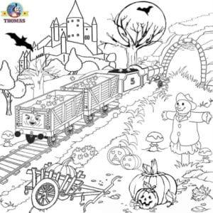 бесплатно распечатать картинки на хэллоуин раскраски