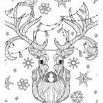 бесплатно распечатать лет новый год раскраски детям 4 5