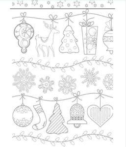 бесплатно распечатать на новый год 2017 раскраски А4