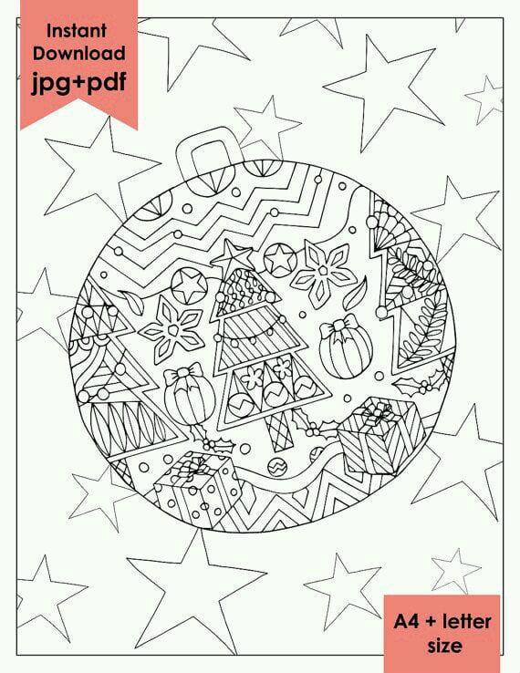 бесплатно распечатать на тему новый год раскраски
