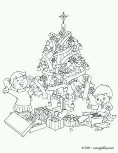 бесплатно распечатать новый год детские раскраски А4