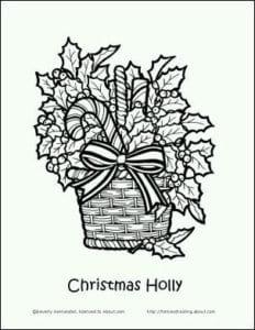 бесплатно распечатать новый год и рождество раскраски А4