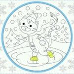 бесплатно распечатать раскраски антистресс новый год
