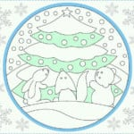 бесплатно распечатать раскраски для нового года игрушки распечатать