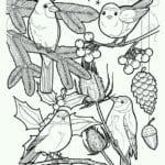 бесплатно распечатать раскраски новый год рисунки А4