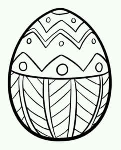 бесплатно распечатать раскраски пасха яйца красивая