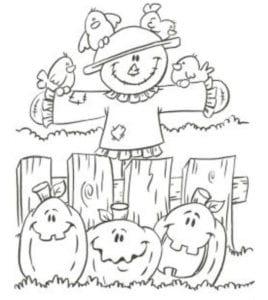 бесплатно распечатать раскраски про хэллоуин