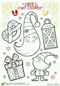 бесплатно распечатать раскраски с новым годом открытки А4