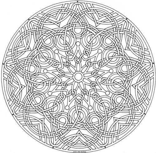 для детей узоры и орнаменты раскраска - Рисовака