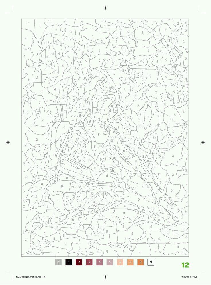 бесплатно взрослые рисунки по номерам распечатать