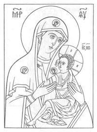 церковь и храм православие чудеса божии раскраски 1